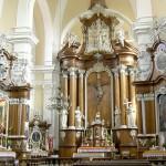 Kościół pw. św. Walentego przy Klasztorze Ojców Franciszkanów w Osiecznej woj. wielkopolskie