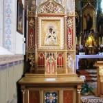 Ołtarz boczny z kaplicy szpitalnej klasztoru Bonifratrów w Piaskach - Marysinie woj. wielkopolskie