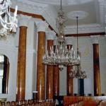 Pawłowice woj wielkopolskie sala balowa pałacu