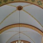 Sklepienie kaplicy szpitalnej klasztoru Bonifratrów w Piaskach - Marysinie woj. wielkopolskie