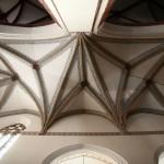 Sklepienie nawy boczny bocznej w kościele Katedralnym pw. św. Piotra i Pawła w Legnicy woj. dolnośląskie