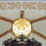 Sklepienie prezbiterium kościoła pw. Podwyższenia Krzyża w Sulikowie woj. dolnośląskie