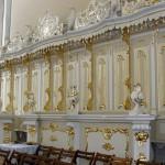 Stalle w kościele klasztornym Ojców Oblatów w Obrze woj. Wielkopolskie