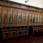 Stalle w kościoła pw. św. Małgorzaty w Gostyniu woj. wielkopolskie