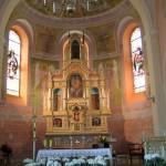 Wnętrze i wyposażenie kościoła pw. św. Wojciecha w Jankowie Zaleśnym woj. wielkopolskie