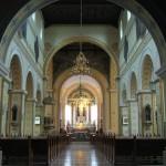 Wnętrze kościoła pw. Najświętszego Serca Pana Jezusa i św. Floriana w Poznaniu woj wielkopolskie