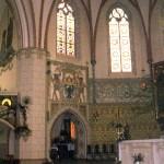 Wnętrze kościoła pw. św. Jacka w Legnicy woj. dolnośląskie