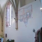 Wnętrze kościoła pw. św. Jadwigi Śląskiej w Bolkowie woj dolnośląskie