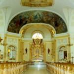Wnętrze kościoła pw. św. Marcina w Kępnie woj. wielkopolskie