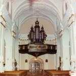 Wnętrze kościoła pw. św. Wawrzyńca w Koźminie Wielkopolskim