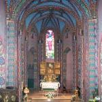 Wnętrze kościoła pw. św. Wojciecha w Poznaniu woj. wielkopolskie