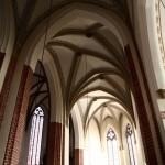 Wnętrze nawa południowa kościoła katedralnego pw. św. ap. Piotra i Pawła w Legnicy woj. dolnośląskie